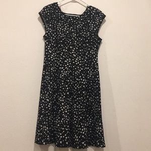Elle brand black & white dress